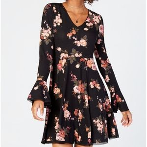 American Rag Floral Fit & Flare Dress, S